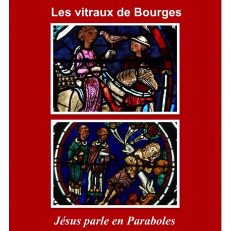 Les vitraux de Bourges. Jésus parle en paraboles